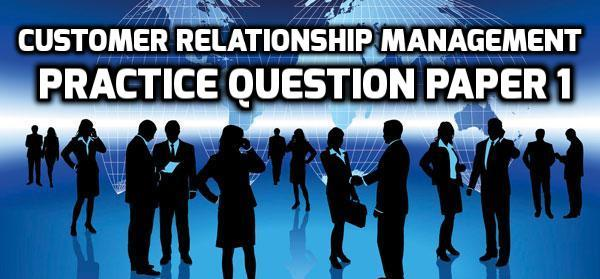 study on customer perception towards customer relationship manageme ...